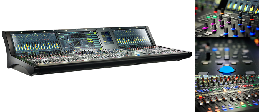 Lawo mc²56 Audio Mixing Console